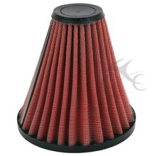 Red Colour Spike Air Cleaner Filter For Harley EFI Fatboy Road King Touring Vstar Shadow Honda Shadow Spirit ACE 750 black motorcycle spike air cleaner kits intake filter fit for honda shadow 600 vlx600 1999 2012 vlx 600 shadow600 2000 2001 2002
