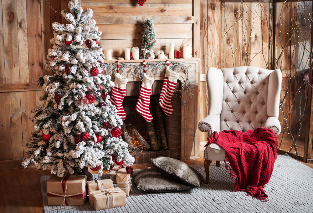 Christmas Photography Backdrops Wall Decorations Background Newborn Photo Background Party Backdrop XT-6159
