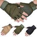 1 Пара Военные Перчатки Half-finger Пальцев Тактический Airsoft Охота Езда Велоспорт Перчатки Боксерские Летние Перчатки для Мужчин Женщин