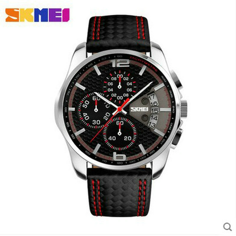 skmei water resistant quartz watch with stainless steel back wathes men women business wristwatches men s