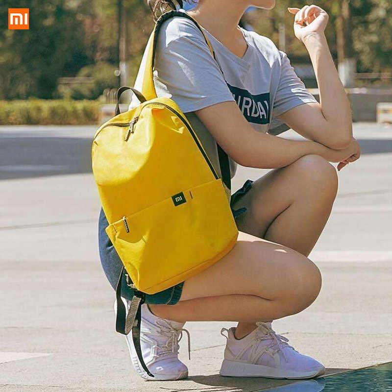 Mochila Original Xiaomi 10L, Mochila deportiva colorida para el tiempo libre, mochila Unisex para hombre, mujer, viaje, Camping