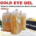1 кг 24 К золотой гель плотно против морщин тонкие линии глаз крем удалить жира гранулы жировой бусины темный круг anti-отечность против старения
