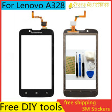 Tools+4.5″ Original Mobile Phone Touch Screen Sensor Digitizer Glass Panel For Lenovo A328 A328T Top Touchscreen Highscreen