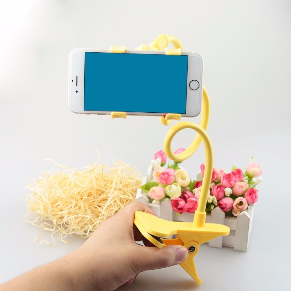 Мобильный Держатели для телефонов в автомобиль ленивый кронштейн Универсальный 360 градусов вращения Flexibl держатель мобильного телефона за…