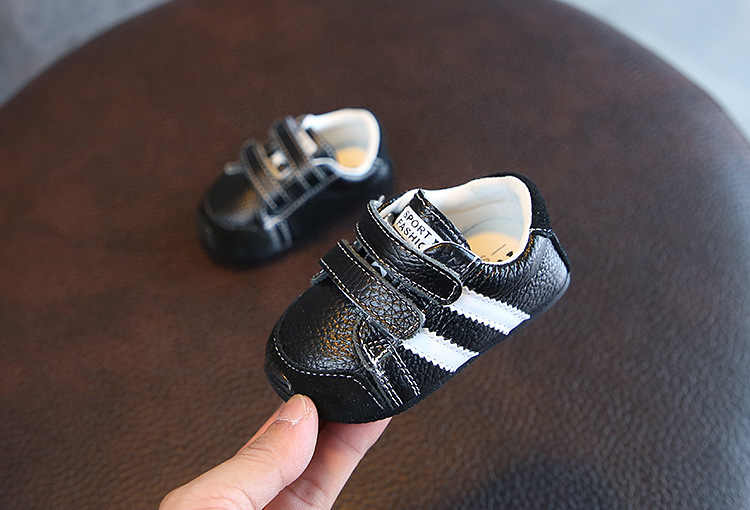 kids shoes baby loafers Children Genuine Leather shoes Boys Girls Casual Shoes Soft leather Todder Shoes Non-slip Kids Sneakers