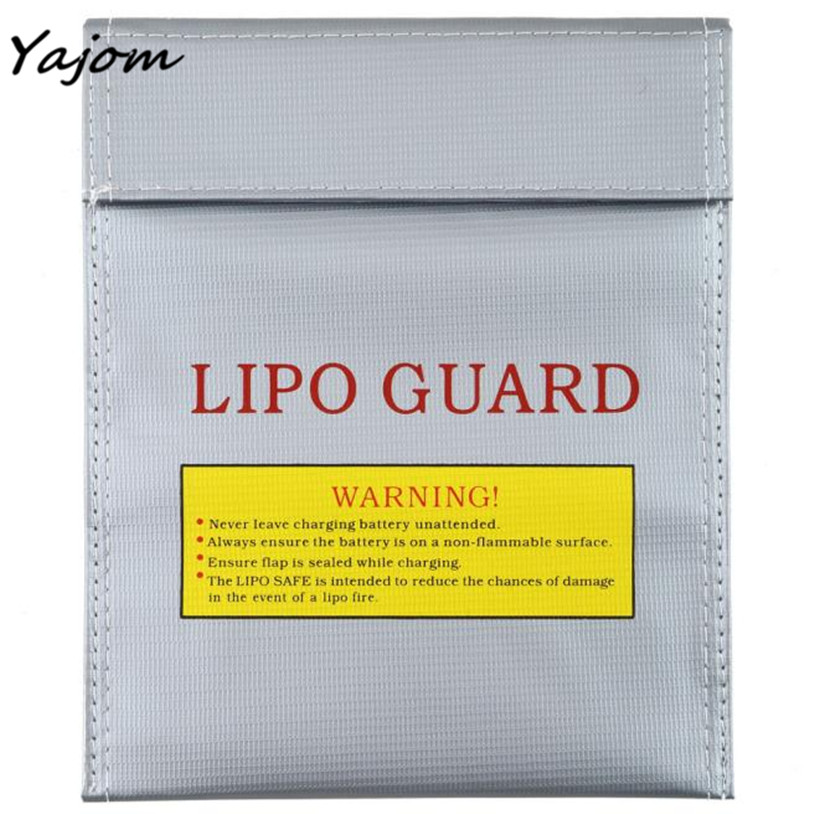 2017 New Hot Sale RC LiPo Li-Po Battery Fireproof Safety Guard Safe Bag Charging Sack 18x23 Brand New High Quality Apr 27