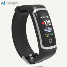 Wearpai M4 smart Heart rate band Color screen blood pressure passometer message/call reminder fashion Sports smart bracelet IP67