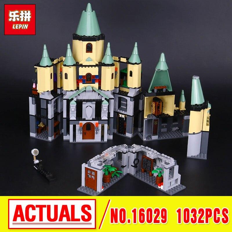 Lepin 16029 Genuine 1033Pcs Movie Series The Magic hogwort castle set 5378 Educational Building Blocks Bricks birthday gifts