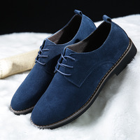 NORTHMARCH Men Oxfords Shoes Suede Leather Men Casual Shoes Spring Autumn Fashion Lace Up Men Shoes Leather Chaussure Homme