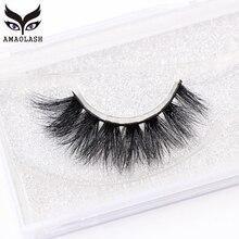 AMAOLASH 3D Mink Lashes Cross Thick Eyelashes High Volume Cruelty Free Eye Luxury Handmade False J010
