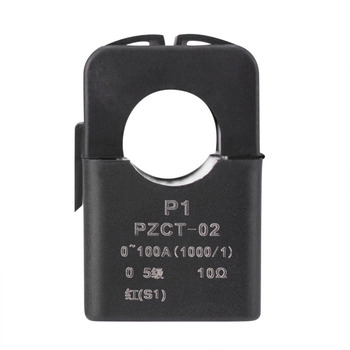 цена на PZCT-02 Split Core Current Transformer Coil Sensor for 100A Amp Energy Meter