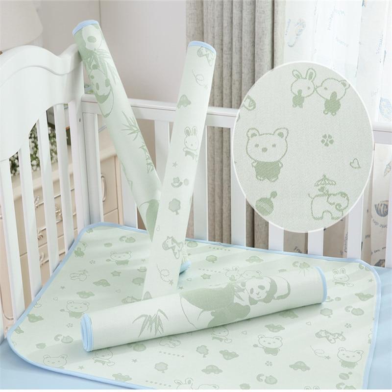 Baby Waterproof Sheet Urine Changing Pads Urine Pad Cartoon Reusable Infant Bedding Nappy Burp Mattress Changing Mat 2019 Summer