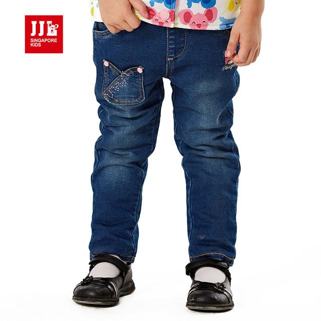 Bebés de los pantalones vaqueros pantalones de los niños niñas pantalones vaqueros rasgados niños flacos de los pantalones de moda de ropa de bebé recién nacido ropa de bebé
