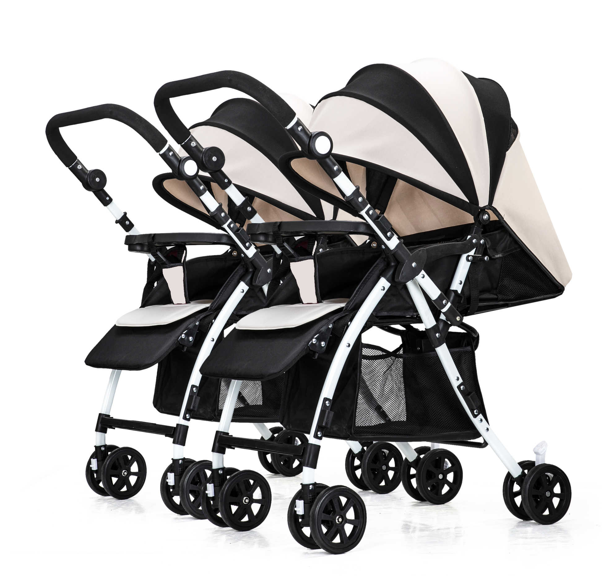 Bugaboo Stroller How To Fold Twin Baby Trolley Can Be Split Seated Reclined Reversed