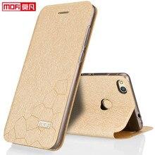 Huawei P9 Lite 2017 чехол для губ роскошные кожаные Мягкий Назад кремния книга принципиально защиты Mofi чехол для телефона Huawei P9 Lite 2017 случаев