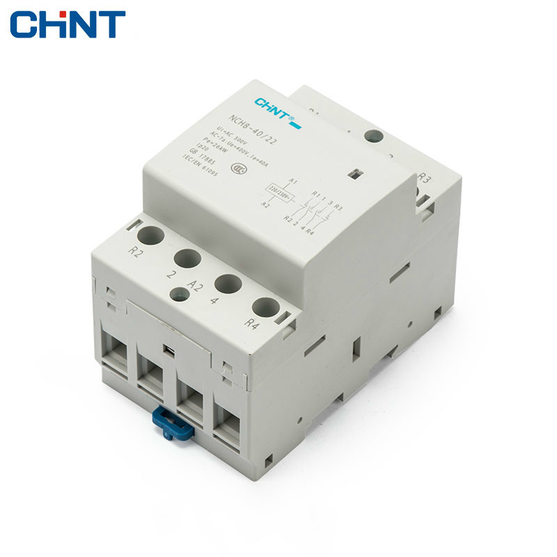 цена на CHINT 4P 40A Household Communication Ac Contactor NCH8-40/22 220V Guide Type 2 Normally Open 2 Often Close