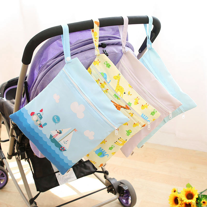 28*25cm Baby Stroller Diaper Bags Infant Nappy Bag for Travel Cartoon Mother Bag Bebe Nursing Changing Bags for Baby Care Stuff