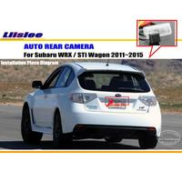Liislee For Subaru WRX / STi Wagon 2011~2015 Rear View Camera / Back Up Park Camera / NTST PAL / License Plate Light Camera