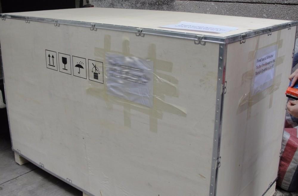 Package - metal detector