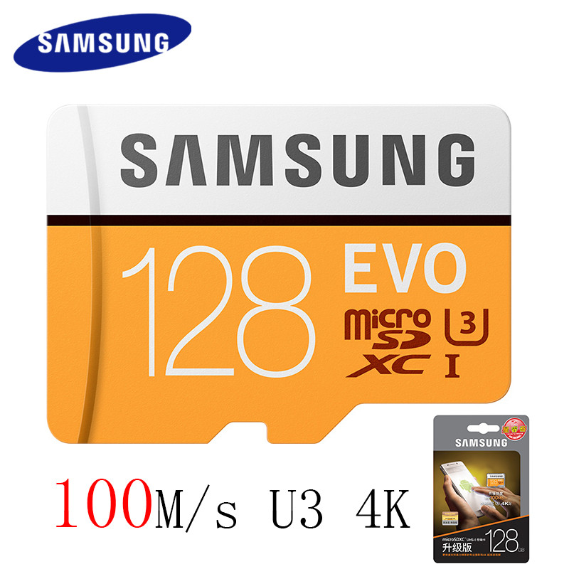 SAMSUNG Microsd Card 128GB 64gb 32gb 256gb 100Mb/s Micro SD Memory Card TF Flash Card for Phone Class10 U3 SDHC SDXC Card Holder best selling memory card 128gb 64gb micro sd card flash cards 8gb 16gb 32gb micro sdhc sdxc microsd tf class10 memory card