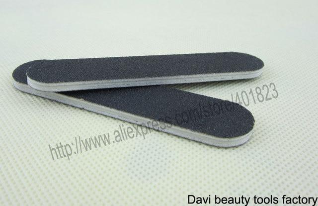black mini nail file 100/180 emery board 100pcs/lot nail tools emery file nail art FREE SHIPPING #SC0311-02