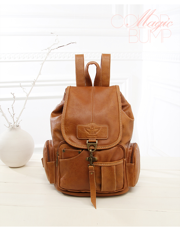 HTB1KYMryAyWBuNjy0Fpq6yssXXaB High Quality Women Backpack Vintage Backpacks For Teenage Girls Fashion Large School Bags PU Leather Black Mochila Feminina