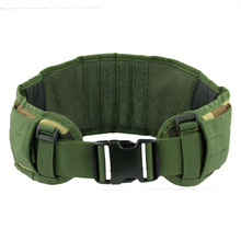 Outdoor moller belt Equipment Military Airsoft Adjustable Tactical Padded Molle Waist Belt Combat Army Battle Belt Cummerbunds расческа marlies moller marlies moller ma084lwbuf61