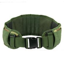 Outdoor moller belt Equipment Military Airsoft Adjustable Tactical Padded Molle Waist Belt Combat Army Battle Belt Cummerbunds