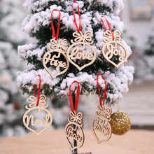 New year Christmas Decorations for home Xmas Wreath Rattan Circle merry Tree Pendant Window Makeup kerst AB316