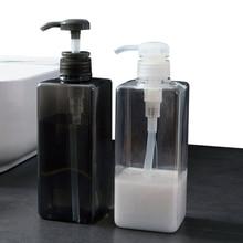 Bathroom Liquid Soap Dispensers Bottle Shower Shampoo Bottle Large Capacity Home Hand Sanitizer Storage Bottles 600ml/650ml