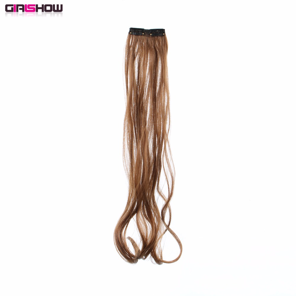 Synthetic Extensions Synthetic Clip-in One Piece Responsible Topreety Heat Resistant Synthetic Hair Fiber 20 50cm 100gr Body Wave 5 Clips On Clip In Hair Extensions 40 Colors Available