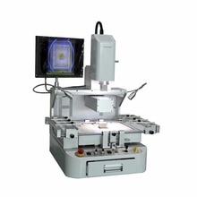 Gratis verzending HT-G730automatic optische uitlijning BGA rework station touchscreen controle BGA soldeerstation soldeerstation