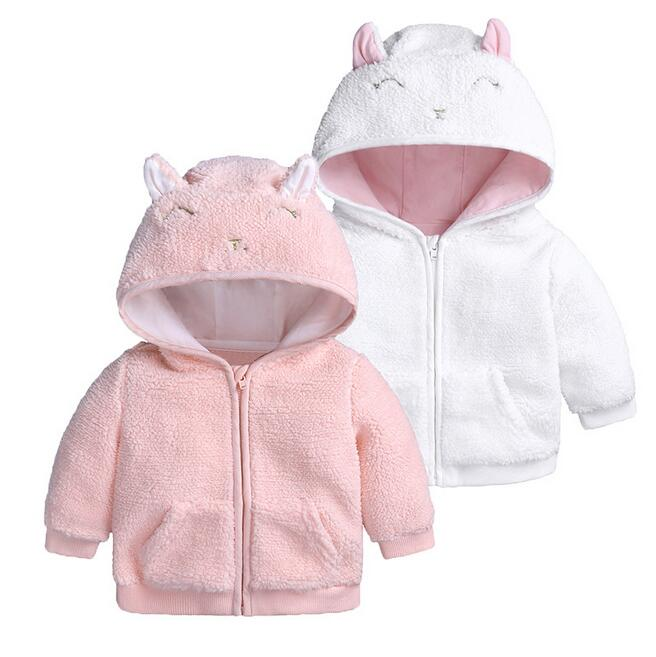 5ed56604a Toddler Hoodies Sweatshirts Baby Infant Girls Autumn Winter Hooded ...