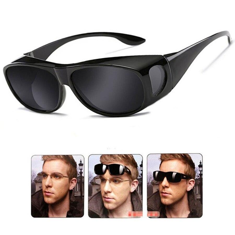 NEWBOLER Gepolariseerde Lenzen Mannen Vrouwen Vissen Zonnebril Cover Voor Bijziendheid Bril Eyewear Zonnebril Fit Over Zonnebril Bril