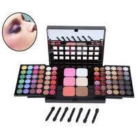 78 Colors Eyeshadow Palette Set 48 Eyeshadow 24 Lip Gloss 6 Blush Makeup Palette Kit Cosmetic