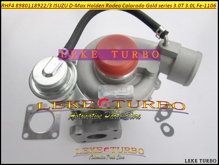 Free Ship Turbo RHF4 8980118923 VIFE 8980118922 Turbocharger For ISUZU D-Max For Holden Rodeo Colorado Gold series Fe-1106 3.0L free ship turbo rhf5 8973737771 897373 7771 turbo turbine turbocharger for isuzu d max d max h warner 4ja1t 4ja1 t 4ja1 t engine