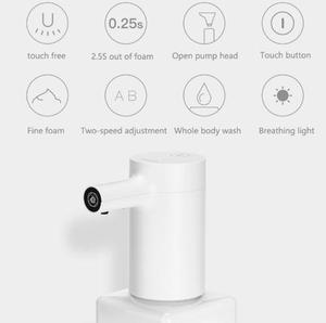 Image 2 - Xiaomi Hệ Sinh Thái Thương Hiệu Lebath Tự Động Cảm Ứng Bọt Xà Phòng Rửa Tay Khử Máy Giặt 1500 mAh Pin Sạc 450/250 ML Dung Lượng PK MiniJ