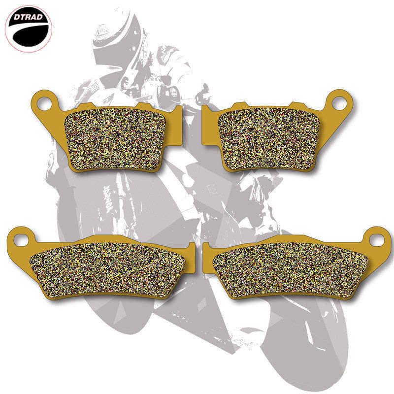 Moto Brake Pads Front+Rear For KTM EXC / EGS / EXE / LC2 125 94-03 SM 125 2000 SX 125 94-03 EXC / EGS 200 98-06 SX 250 94-02 ceramic composite brake pads fit for rear motocross ktm exc 125 250 1995 2003 200 exc egs 1998 2003 motorcycle accessories