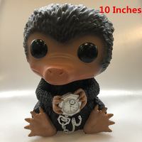 Exclusive 10'' Huge Size Funko pop Secondhand Fantastic Beasts Niffler Vinyl Action Figure Collectible Model Loose Toy No Box