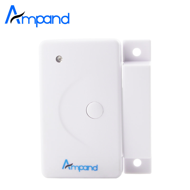 High quality Wireless Home Window Door Burglar Security Alarm System Magnetic Sensor 1pcs Free Shipping hot sale wireless magnetic sensor door window entry alarm system loud alarm sound home security burglar alarm device