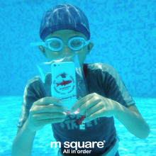 M Square Waterproof Bag Underwater Pouch Bags Waterproof For Phone 4/4s/5/5s Swiming Bag For Note2/3 Cover S4 Mi3/4