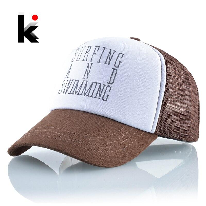 Summer Breathable Mesh Hats Women Letters   Baseball     Cap   Men Snapback Streetwear Casquette Homme Hip Hop Unisex Adjustable Bones