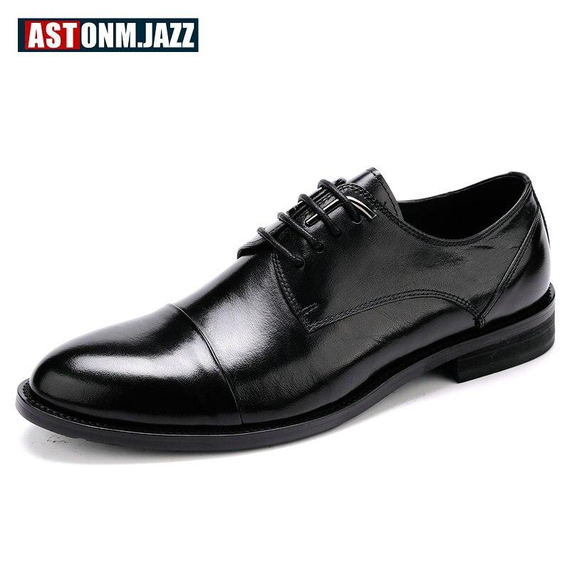 Do Oxfords Escritório Homens Black Couro De Carreira Sapatos Casamento Negócios Mocassins Genuíno Lazer Dos Vestido Casuais Para Brogues O7qtw0wU