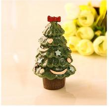 cure department of small animals creative Christmas  tree with moon gift candle mold handmade soap cake decorative