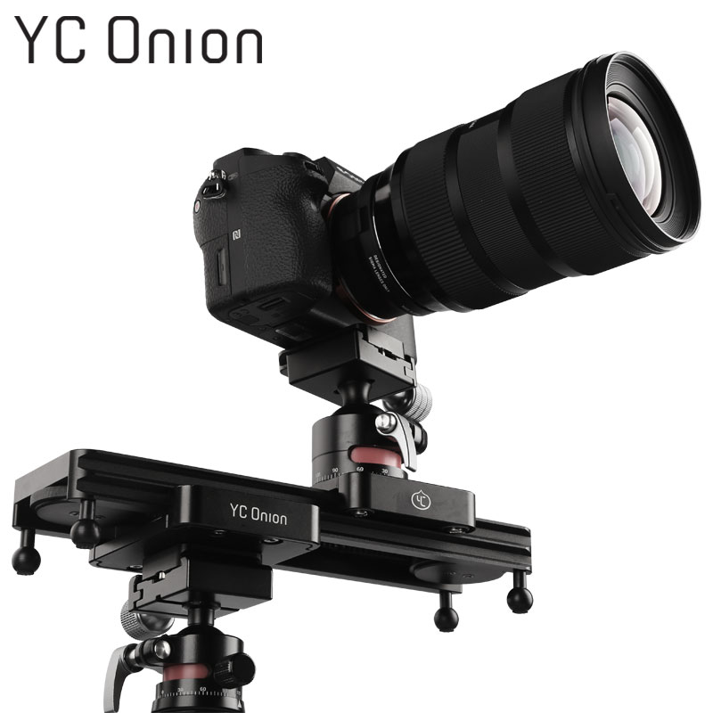 YC ONION Mini Camera Track Rail Dolly Slider With Hydraulic Adjustable Damping For DSLR Camera Smart Phone DV Gopro Video Movie цена и фото