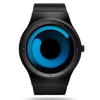 Men watches top brand luxury watch stainless steel mesh quartz watch men fashion aurora style bacelet.jpg 200x200