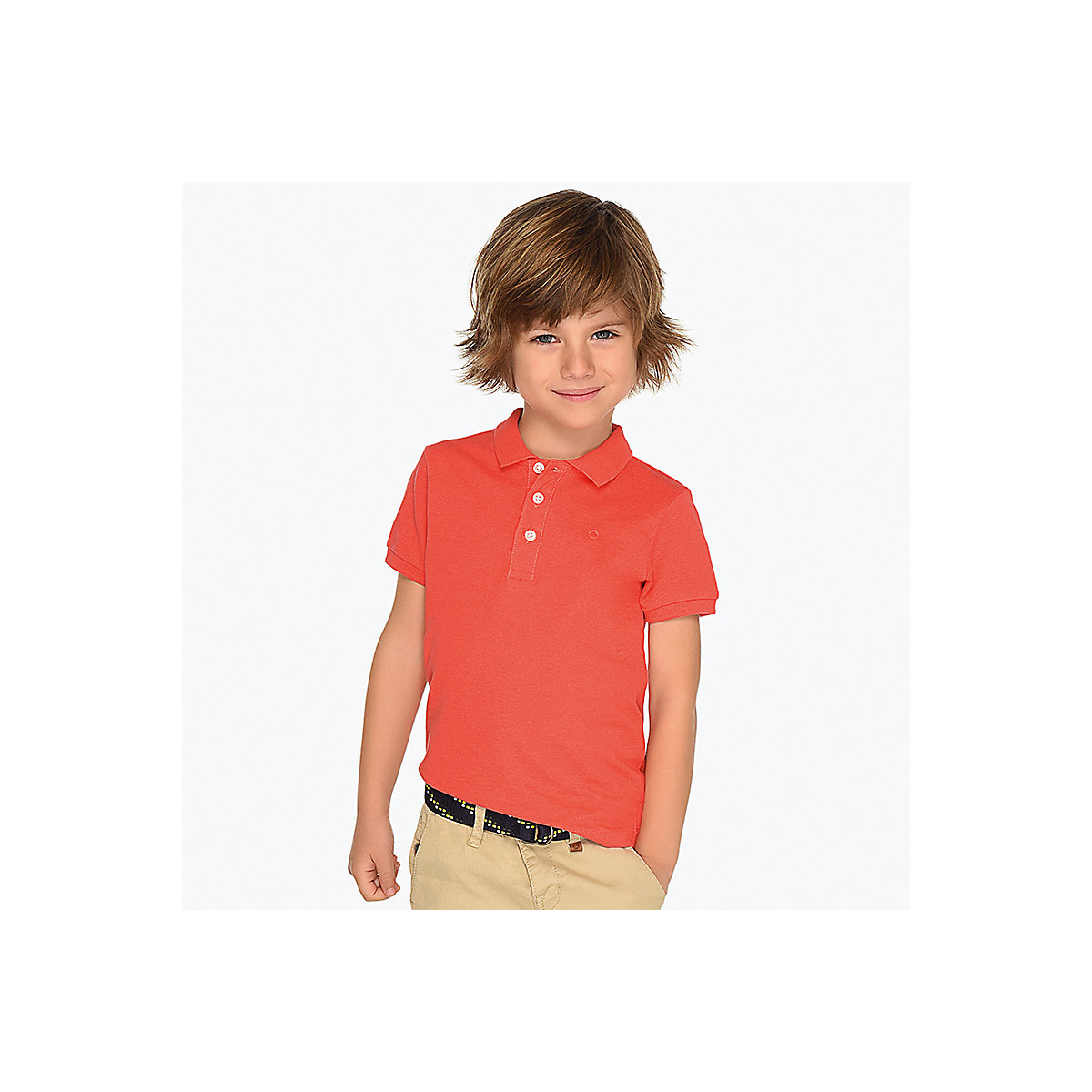 MAYORAL Polo Shirts 10682896 children clothing t-shirt shirt the print for boys