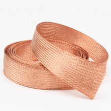 hifi cable sleeve wire 6mm 8mm 10mm 15mm  Shielding Sheathing Auto Wire Harnessing Pure copper Braided DIY Cable Sleeves