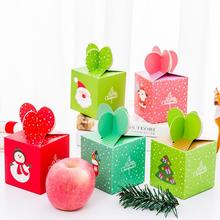 20pcs/lot Merry Christmas Candy Gift Boxes Xmas Tree Guests Kids Gift Packaging Boxes Christmas Party Favors Decor merry christmas candy gift boxes deer xmas tree guests packaging boxes gift bag christmas party favors kids gift decor