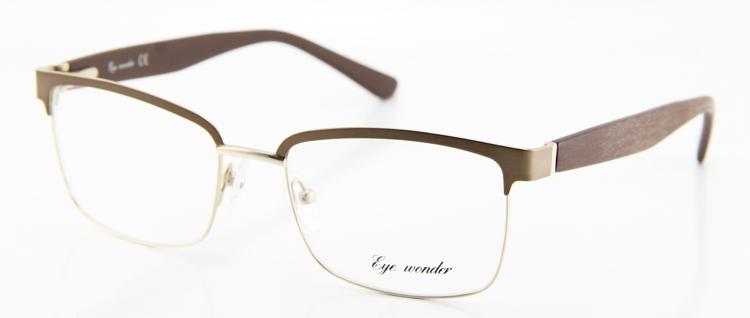 Maravilha Eye Vintage óculos homens Designer meia quadro quadrado ... 5142774104